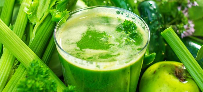 jus vert et hydratation