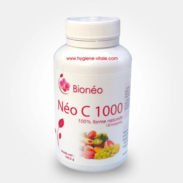 Néo C 1000 + Bioflavonoïdes + anti-acide