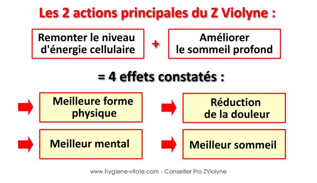 zviolyne 2 actions principales