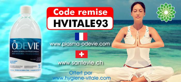 odevie - code remise Hygiene Vitale France et Suisse