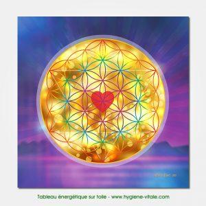 Tableau énergétique - Fleur de vie - Amour Divin- Jeson Love