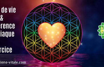 cohérence-cardiaque et fleur de vie-gestion du stress