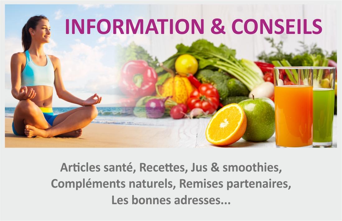 Information & Conseils - Hygiène de vie